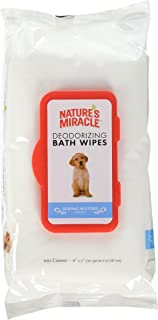 Nature's Miracle Deodorizng Spring Water Wipes, 200 Count