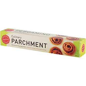 PaperChef Parchment Paper for Baking: Multipurpose Nonstick Parchment Roll, Oven Safe, No Grease or Butter Needed, Ideal for Cooking and Roasting, Biodegradable, Kosher-Certified (205 sq ft roll)