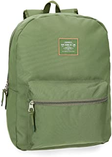 Pepe Jeans Cross Mochila 44 cm, color Verde Kaki