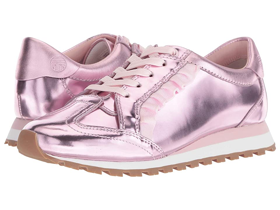 Tory Sport Ruffle Trainer (Cotton Pink/Cotton Pink/Cotton Pink) Women