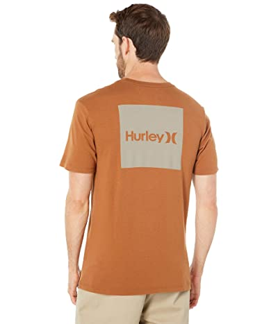 Hurley One Only Boxed Front Back Short Sleeve T-Shirt