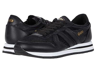 Gola Daytona Leather (Black/Black) Men