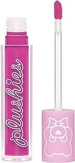 Lime Crime Plushies Soft Matte Lipstick, Dragon Fruit - Bright Magenta - Blackberry Candy Scent - Long Lasting, Nude Lips - Soft Focus, Non-Opaque Lip Veil - 0.11 fl oz