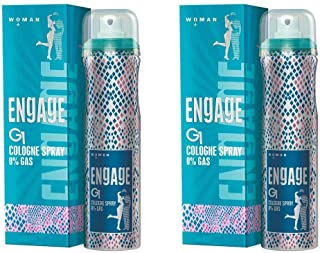 Engage Women Cologne Spray - G1 (150ml) (Pack of 2)