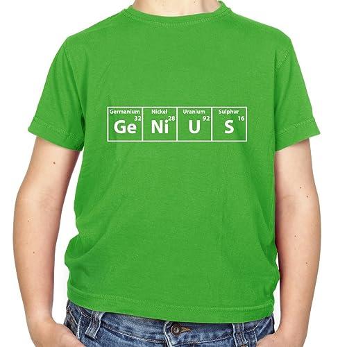 e053e67bc Genius Periodic Table - Childrens/Kids T-Shirt - 8 Colours - Ages 3