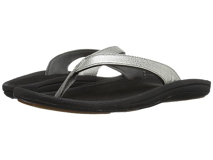 Kulapa Kai  Shoes (Silver/Black) Women's Sandals