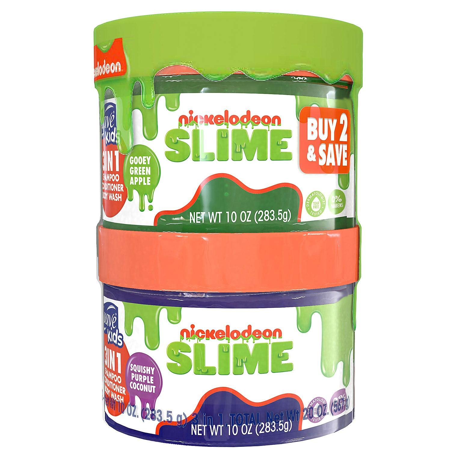 Suave Kids 3 Superior in 1 Shampoo Popular brand in the world and Wash Conditioner Nickelodeon Body