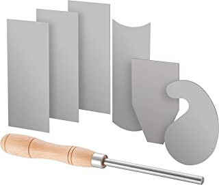 Ultrathin for woodworking DEF Manganese Steel Cabinet Scrapers Tool High-strength and Wear-resistant Convex Scraper