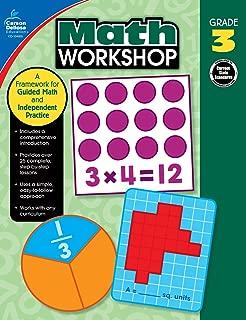 Carson-Dellosa Math Workshop Resource Book, Grade 3