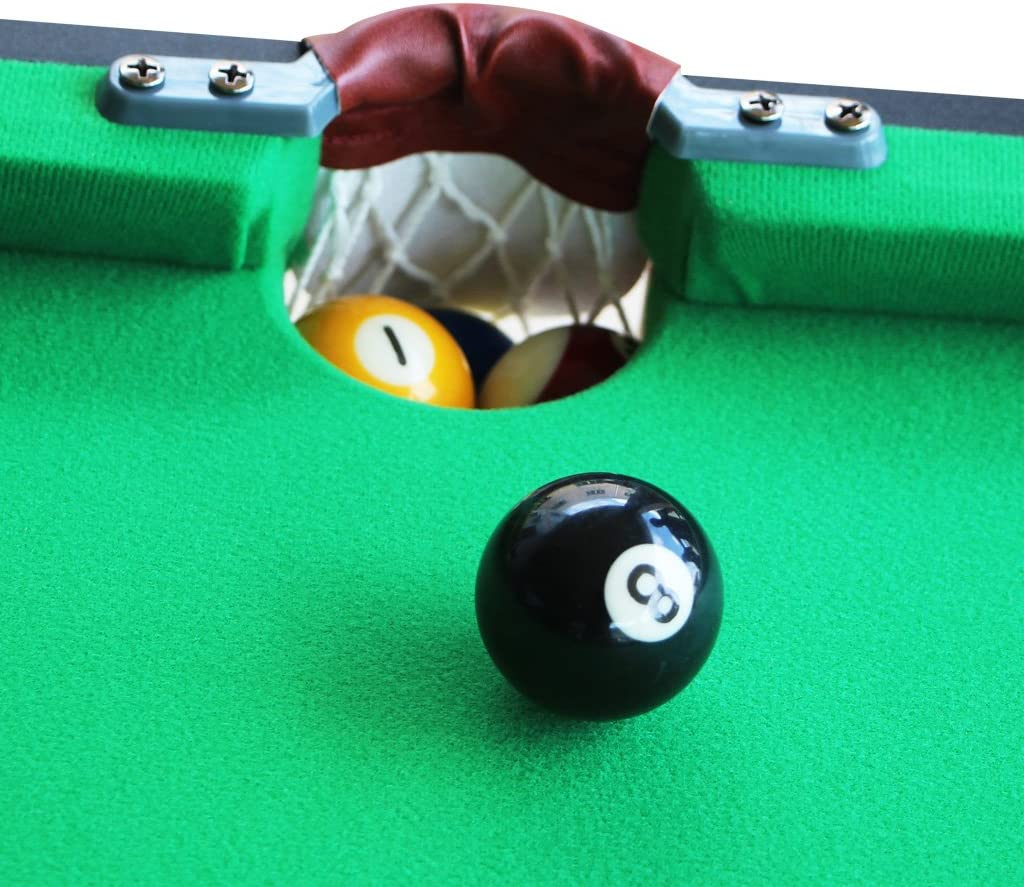 KAKIBLIN 55 Folding Billiard Table Top Pool Game with All Accesorry Included,Simple Assembly Needed