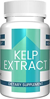 Kelp Extract Capsules (100 Capsules, 485 mg per Serving) (1 Capsule/Serving) by Pure Organic Ingredients, Superfood, Energy Booster*, Lower Stress*, Weight Loss Aid*, Heart Healthy*
