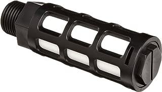 Parker ASN-10 Acetal Plastic Exhaust Air Line Silencer, 3/8