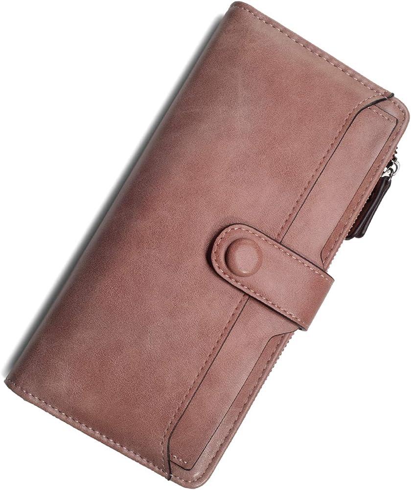 Vaschy portafoglio per donna portacarte di credito in pelle sintetica VAUKBP130B