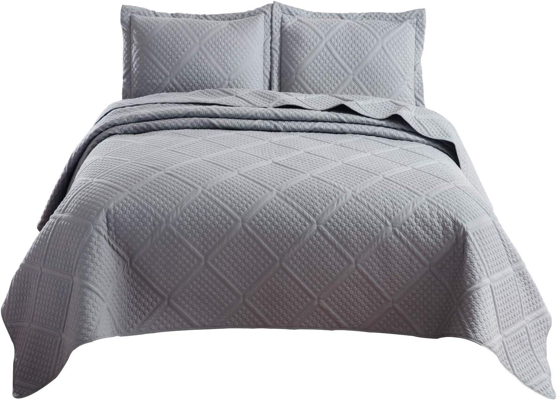 Bedsure 2-Piece  Lightweight Quilt Set $14.69  Coupon