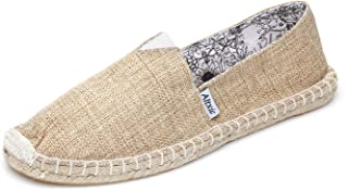 Altxic Men's Closed Toe Comfortable Canvas Slip on Flat Espadrilles