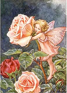 5D DIY engel liefde rozen compleet diamant schilderij kunst volwassenen op nummer schilderij volledige boor kristal strass...