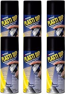 6 PACK PLASTI DIP Mulit-Purpose Rubber Coating Spray BLACK 11oz Aerosol