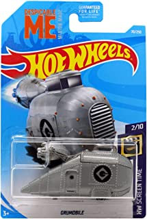 Hot Wheels 2019 HW Screen Time Despicable Me Minions Grumobile 70/250
