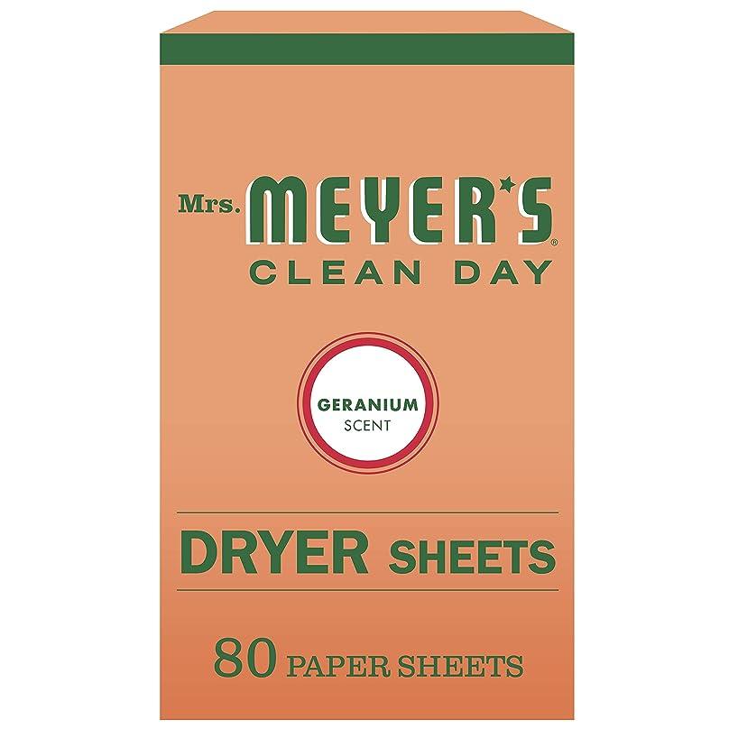 多様体先にかどうかMrs. Meyer's Clean Day Dryer Sheets, Geranium, 80 Count by Mrs. Meyer's Clean Day