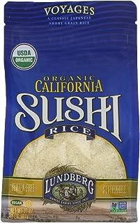 Lundberg Family Farms Organic White Sushi Rice, 32 Ounce