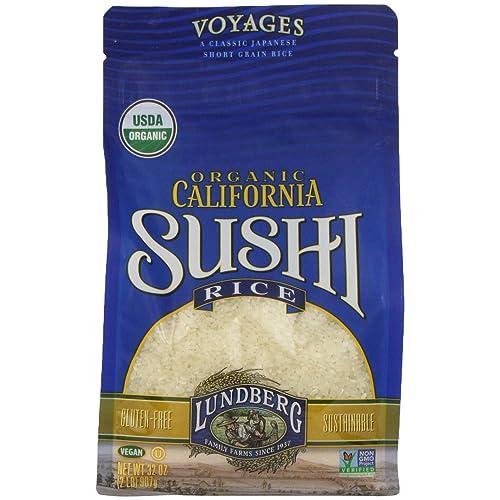 Lundberg Family Farms Organic White Sushi Rice, 32 oz