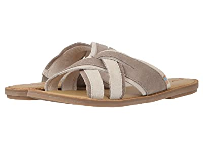 TOMS Val (Desert Taupe Suede) Women