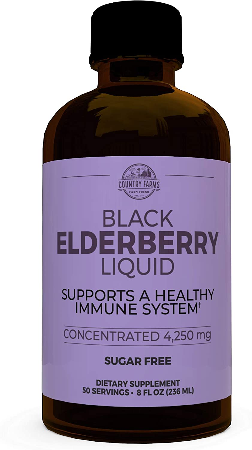 Country Farms Elderberry Liquid Direct sale of manufacturer A Supports Health Ranking TOP9