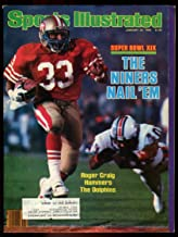 SI: Sports Illustrated January 28, 1985 Super Bowl XIX Roger Craig 49ers Cover GOOD