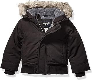 OshKosh B'Gosh Boys' Heavyweight Winter Jacket with Hood Trim