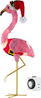Best holiday time light up fluffy flamingo Reviews