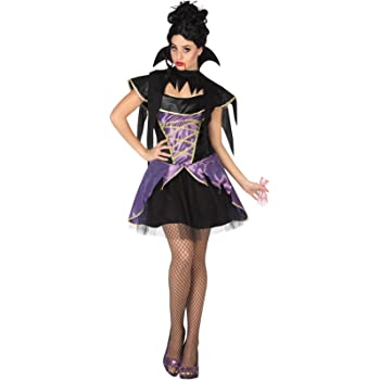 Atosa-26473 Disfraz Vampiresa para Mujer Adult, color violeta, XL ...