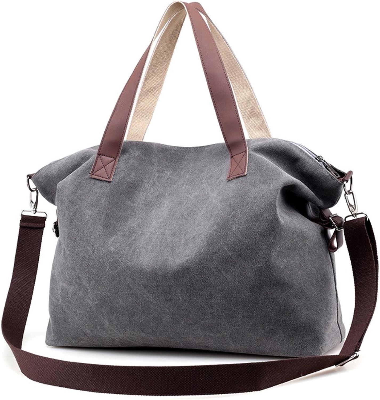Sanxiner Large Top Handle Handbag Tote Bag Canvas Crossbody Bags for Women