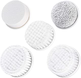 Facial Cleansing Brush Head Replacement 5PCS for PIXNOR 7 in 1 Waterproof Body Facial Brush