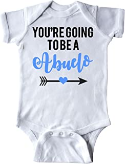 inktastic You're Going to Be a Abuelo Blue Infant Creeper