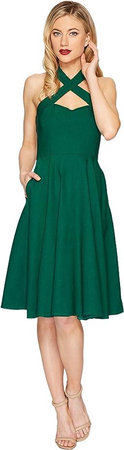 Unique Vintage - Rita Flare Dress