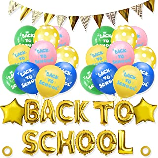 Back to School Balloons Decorations Set Back to School Balloons Balloon Decorations Back to School Decorations Supplies Kit