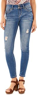 Women's Juniors Stretch Luscious Curvy Skinny Jeans