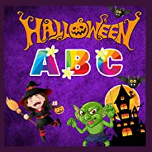 Halloween ABC: Fun book for kids and toddlers, alphabet for preschoolers and preschoolers, girls, boys, colorful zombie-wi...