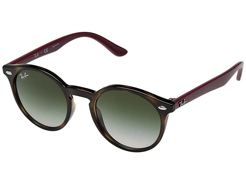 Ray-Ban Junior RJ9064S 44mm (Youth) (Havana/Light Brown Gradient) Fashion Sunglasses