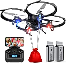 Drones with Camera-DBPOWER U818A Discovery FPV 720P HD WiFi Camera Drone,RC Quadcopters..