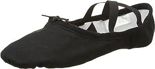 Taille Fabricant: 5 35 EU Sansha 3C Silhouette Chaussure de Danse Demi-Pointes pour Adultes en Toile Femme Noir