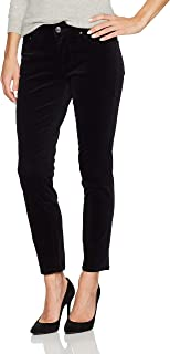 Jag Jeans Womens Pants Black US Size 6 Corduroys Stretch Skinny Low-Rise