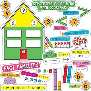 Easy Anchor Charts: Working with Numbers Bulletin Board Set