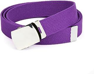 Vintage Fabric Belts For Dresses Flower Belts For Dresses Purple and White Belt Cloth Belt