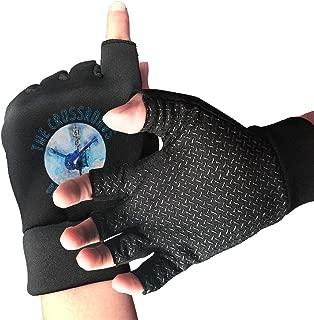 NUKMTAOER The Crossroads Delta Blues Gym Gloves Workout Gloves Rowing Gloves Exercise Gloves Cross Training for Men & Women