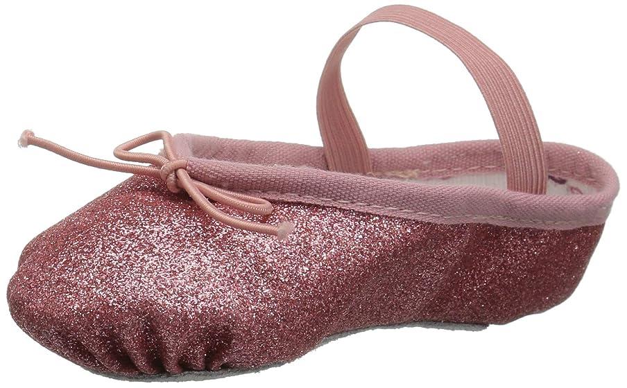 Bloch Kids Baby Girl's Glitter Dust Ballet Slipper (Toddler/Little Kid) Rose 7.5 M US Toddler y9641846271
