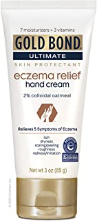 Gold Bond Eczema Relief Hand Cream, 3 Ounce (Pack of 1)