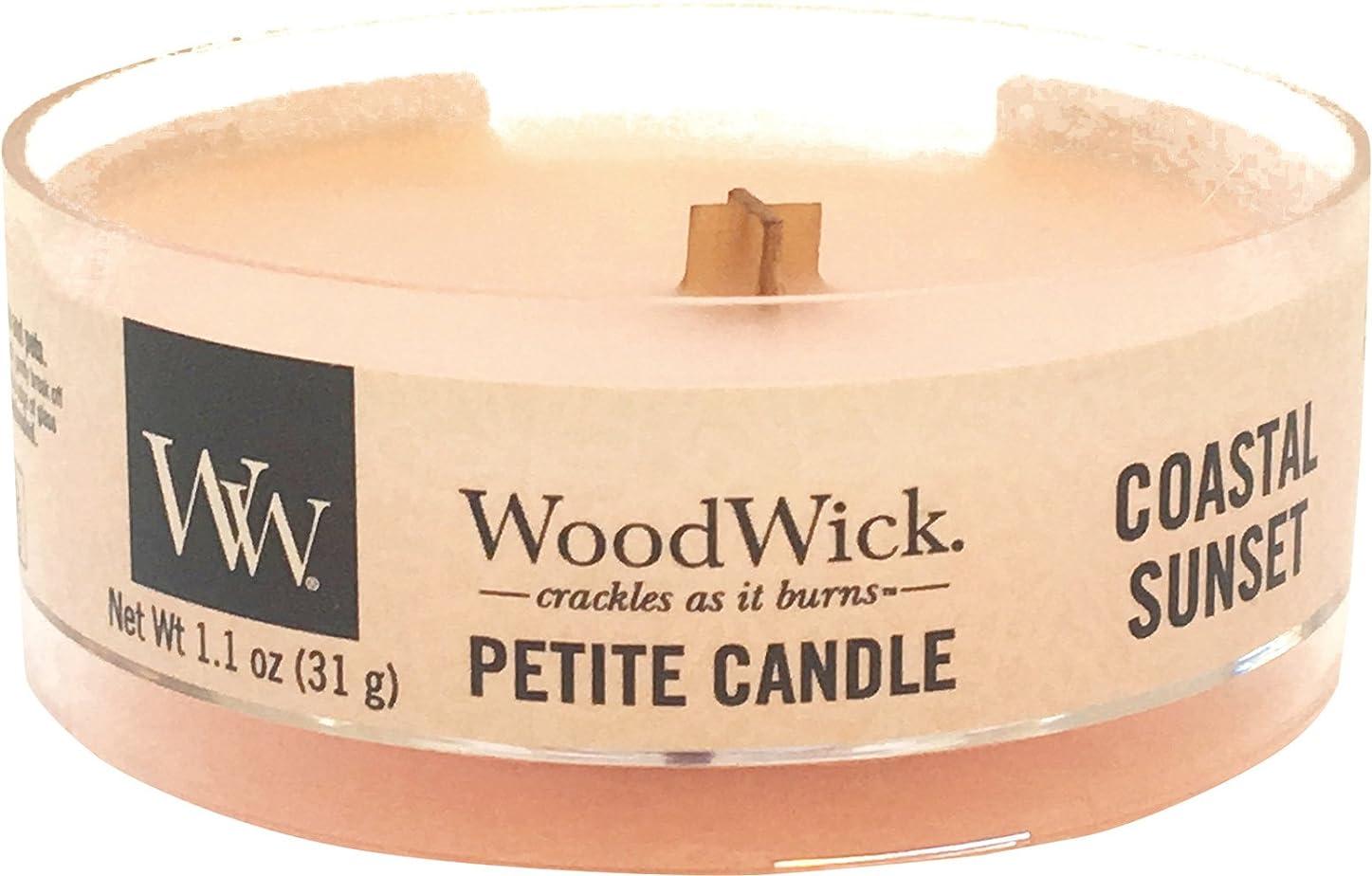 お手入れ社会主義者樹木Wood Wick ウッドウィック プチキャンドル コースタルサンセット