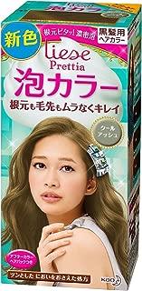 KAO Japan Liese Prettia Creamy Bubble Hair Color for Dark Hair (Cool Ash)