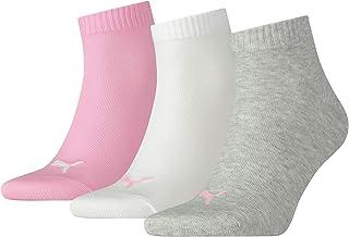 PUMA mens Quarter Plain Prism Socks - 3 - Pack